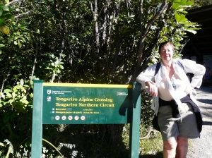 Sue Completes The Tongariro Crossing
