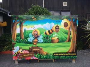 Sue & Paul At The Bee Farm