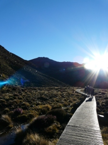 Sunrise Over The Tongariro Crossing