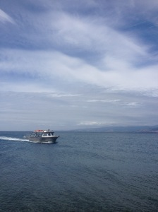The Boat To Kapiti Island