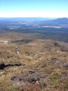 The Final Descent Of The Tongariro Crossing