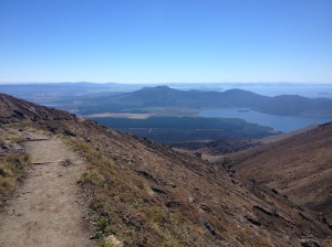 The View From The Descent Of Mount Tongariro