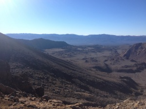 The View From The Red Crater Climb