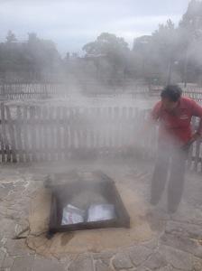 Whakarewarewa Cooking Pit
