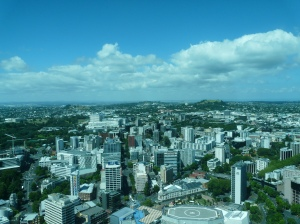 A View From The Sky Tower