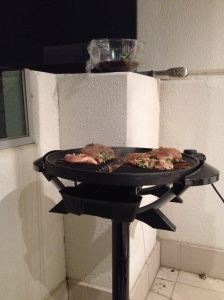Chicken On The Barbecue