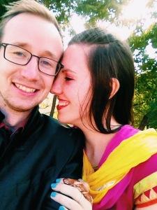 Chris & Elena At The Indian Wedding