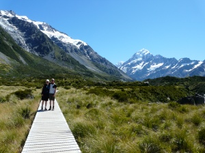 Lisa & Chris In Hooker Valley