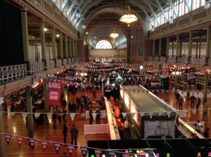 The Royal Exhibition Building During GABS