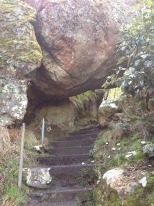 Hanging rock at Hanging Rock