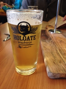 A pot of Holgate's refreshing pilsner.