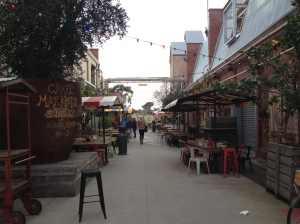 The courtyard at Little Creatures Geelong