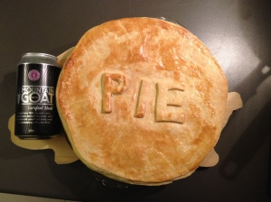 Steak And Mountain Goat Surefoot Stout Pie