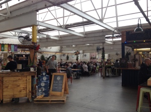 The Indoor area of Little Creatures Geelong