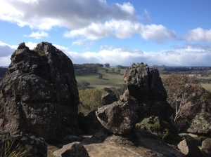 The view from Hanging Rock.