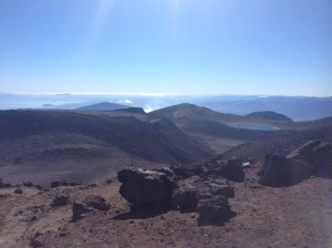 The View Over The Tongariro Alpine Crossing