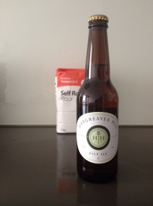 A bottle of Hargreaves Hill Pale Ale.