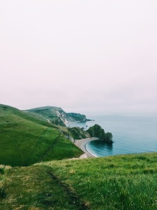 First Sight of Durdle Door