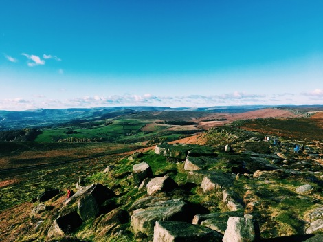 The View From Stannage Edge