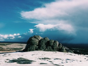 Storm Clouds Behind Haytor
