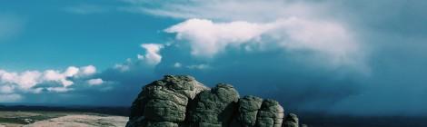 Storm Clouds Behind Haytor