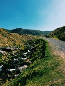 The Track To Llyn Y Fan Fach