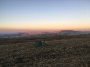 Wild Camping In The Brecon Beacons