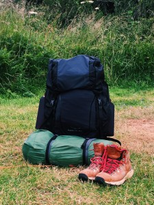 Loaded Bag and Boots