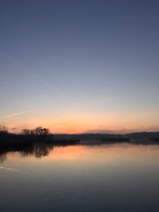 Sunrise Over Fleet Pond