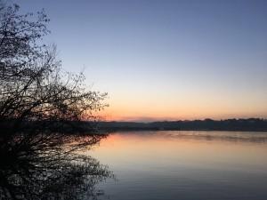 Another Sunrise Over Fleet Pond