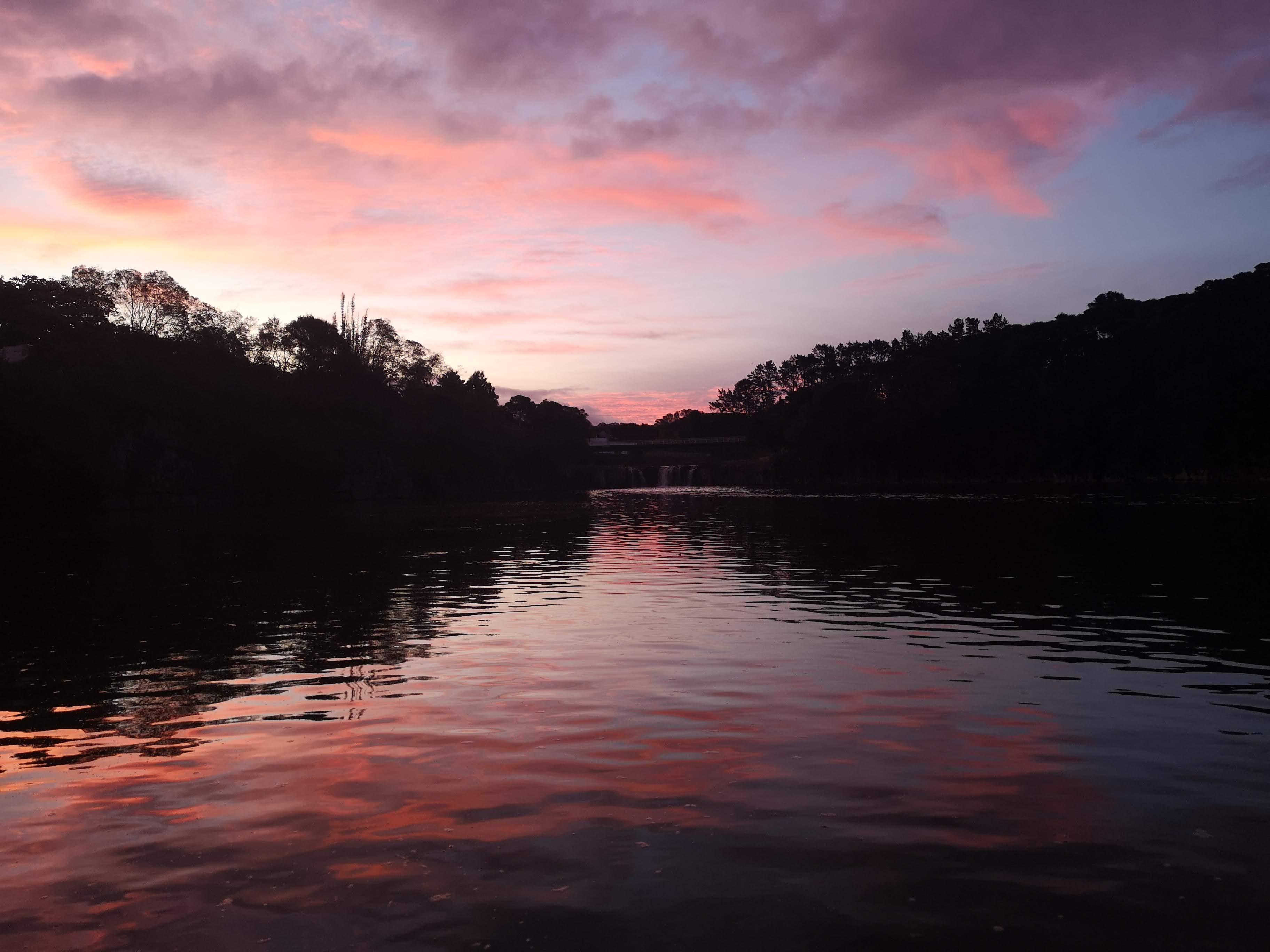 Haruru Falls Sunset