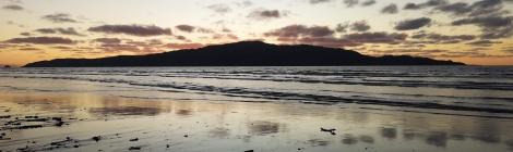 Kapiti Island at Dusk