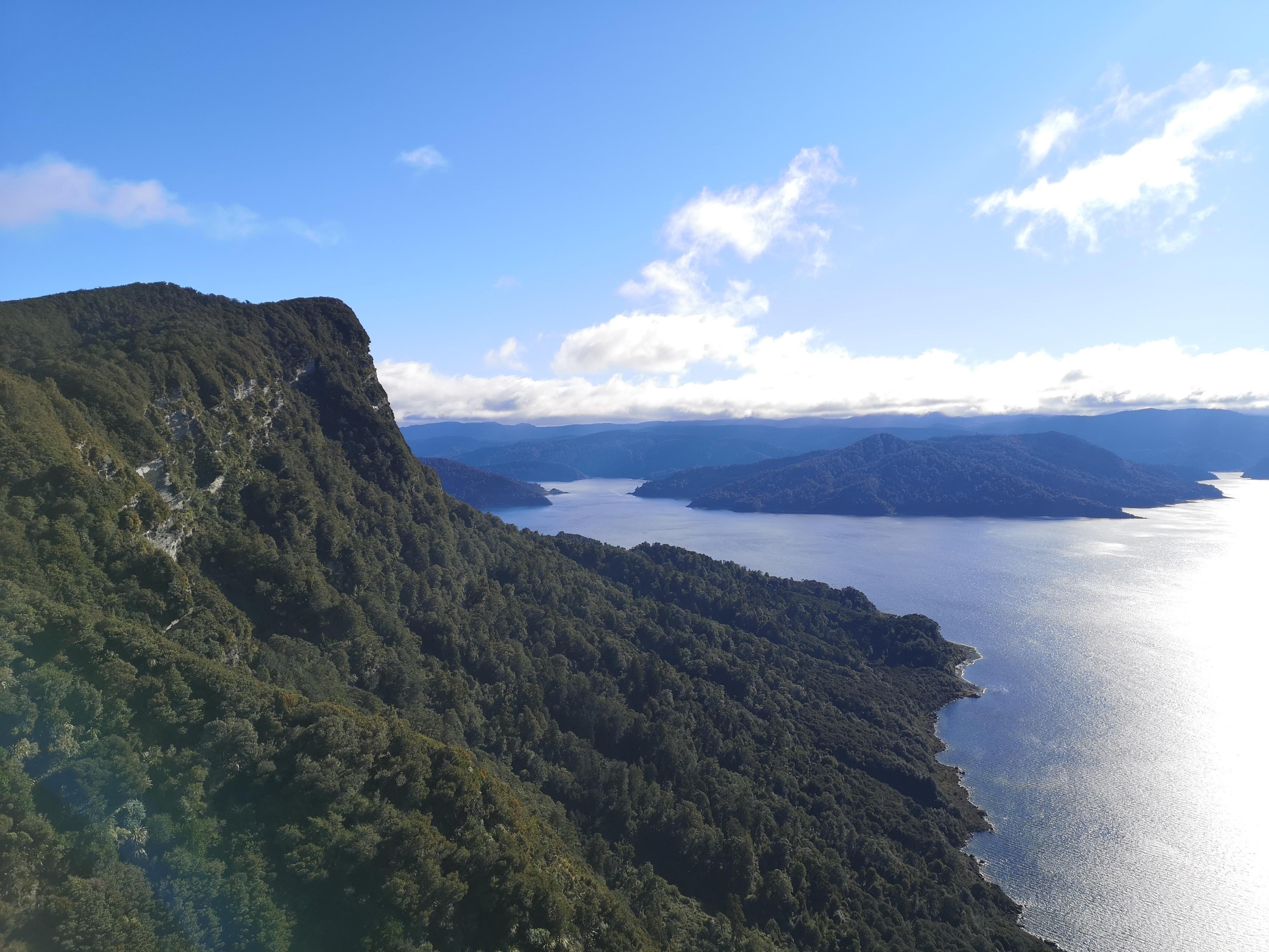Climbing Up Panekiri Bluff