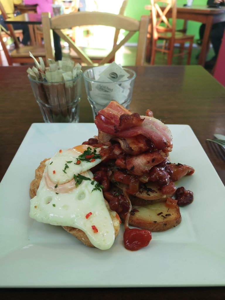The Verfe Cafe's Spanish Fry Up