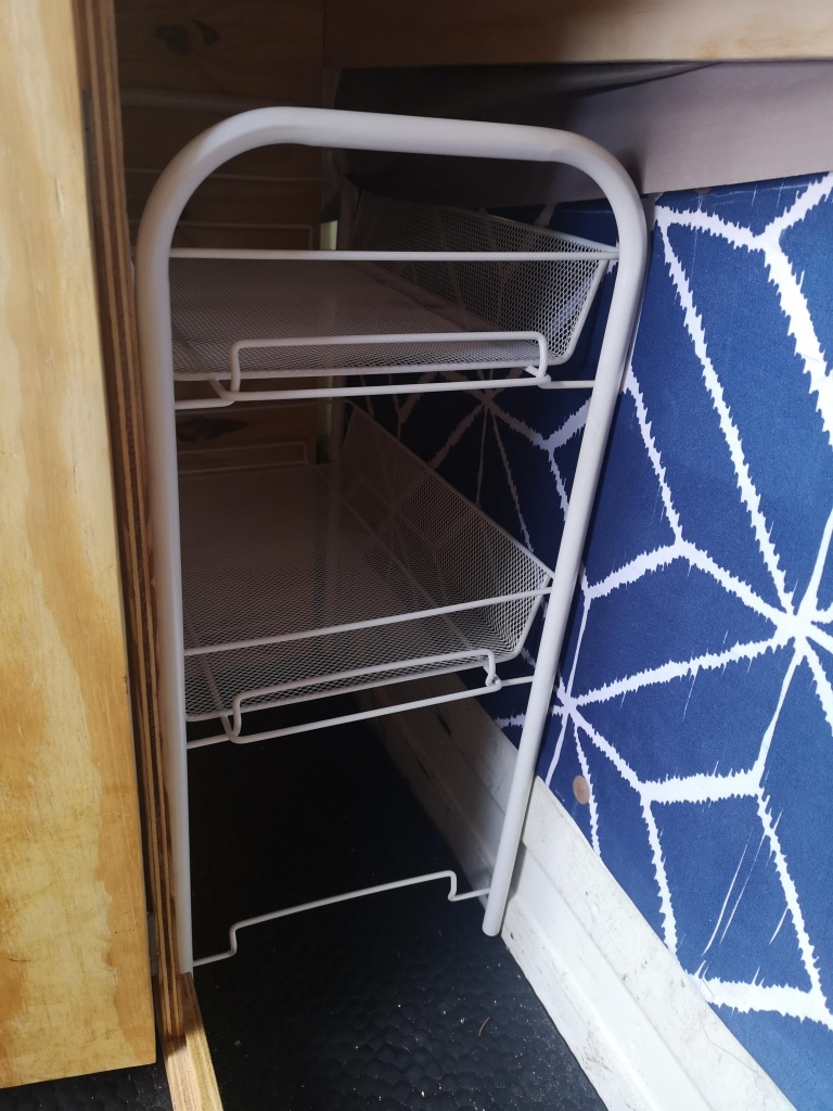Two Tiered Bathroom Trolley