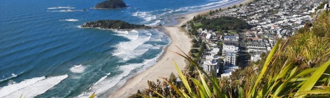 The View From Mount Maunganui