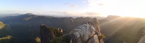 The Pinnacles Panorama
