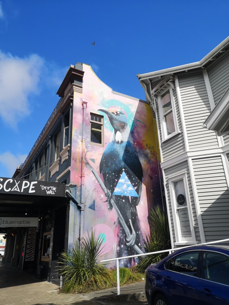 New Plymouth Tui Mural