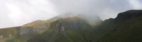 Taranaki in the Clouds